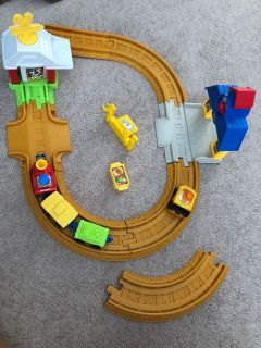 EUC Fisher price little train set