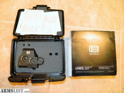 For Sale: Eotech EXPS2-0