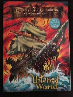 NEW Disney s Pirates of the Caribbean-Untamed World Coloring/Activity Book