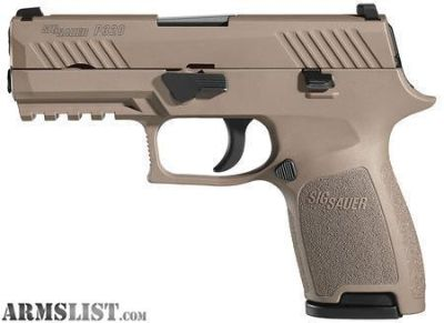 For Sale: Sig Sauer P320C FDE Night Sights 9mm New in Box