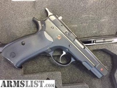 For Sale: CZ 75B COLD WAR 9MM