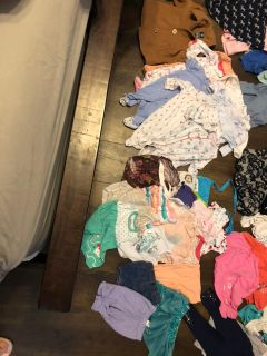 Lot of Baby Girl Clothes Size 3m