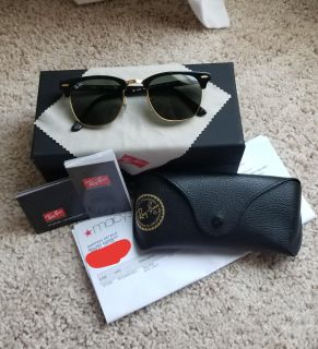 49mm Ray Ban Clubmaster Sunglasses