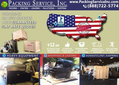 Packing Service, Inc. Export Shipping and Industrial Crates - Bronx, New York