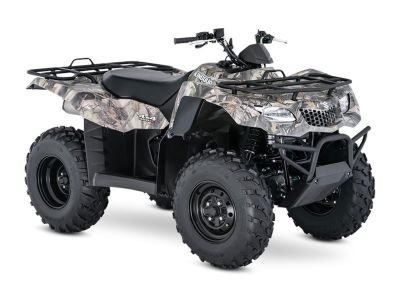 2017 Suzuki Motor of America Inc. KingQuad 400ASi Camo Utility ATVs Little Rock, AR