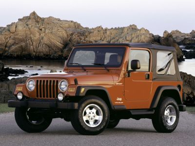 2005 Jeep Wrangler Sport (Black)