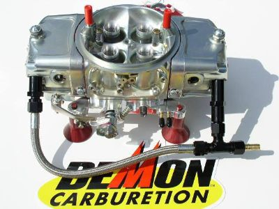 Sell THERE BACK! MIGHTY DEMON 750 CFM ANNULAR BLOW THRU CARB BLACK LINE KIT 5402020BT motorcycle in Lakeville, Minnesota, US, for US $669.99