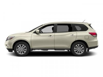 2015 Nissan Pathfinder S (Pearl White)
