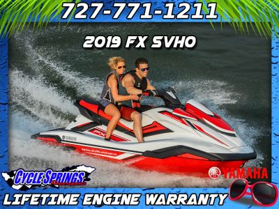 2019 Yamaha FX SVHO 3 Person Watercraft Clearwater, FL