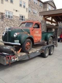 1947, 47 Studebaker Pick Up