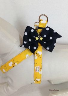 Brand NEW One of a kind Adorable Bee Harness sz.Small (14-21)