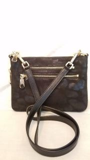 Purse black envelope style