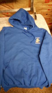 New Hoodie Lincoln Bullpups Size Medium