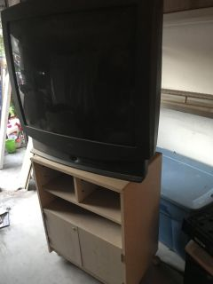Free tv and stand