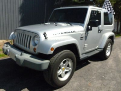 2009 Jeep Wrangler Sahara (Bright Silver Metallic)