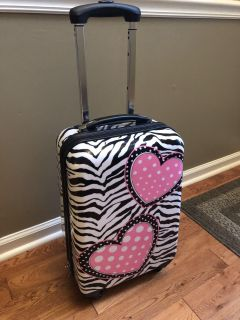 Girls Justice Rolling Luggage Carry On