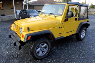 2006 Jeep Wrangler X (Solar Yellow)
