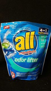 All laundry pods stain lifters 19 pacs