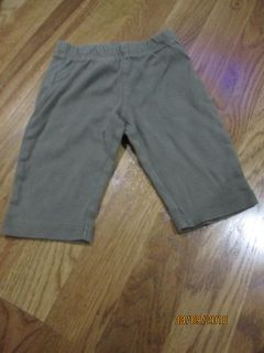 Carters 3 Months Olive Green Pants EUC
