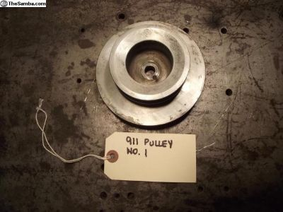 Porsche 911 Crankshaft Pulley With Factory Air