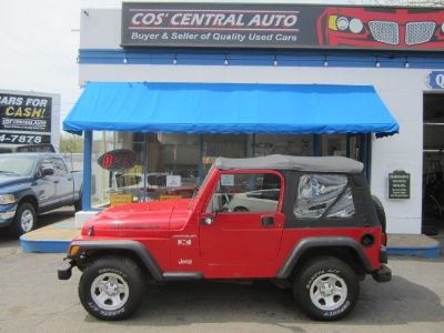 2002 Jeep Wrangler X (Flame Red)