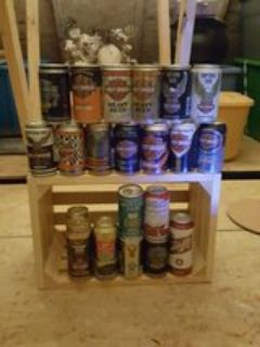 Harley Davidson collectible beer cans