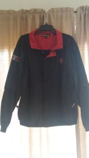 PGA Tour jacket, bottom half of the sleeves are removable