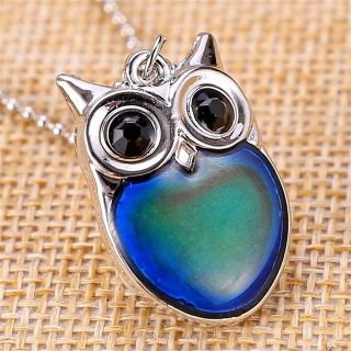SMALL OWL MOOD NECKLACE (New)