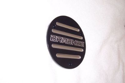 Sell YAMAHA BANSHEE SICK ATV CLUTCH COVER INSERT BLACK POWDER COAT FITS ALL YRS motorcycle in Anaheim, California, United States, for US $50.00