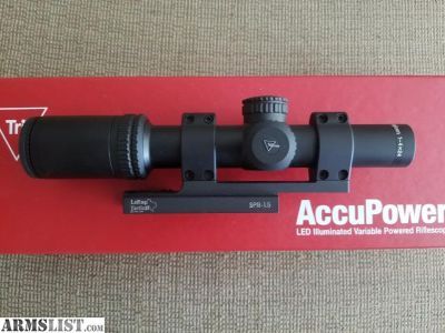 For Sale: Trijicon Accupower 1-4x24 w/ Larue Mount