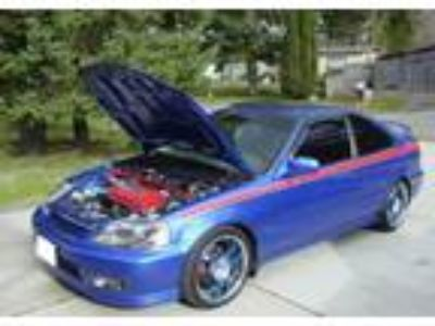 HONDA Civic SI Blue 2000