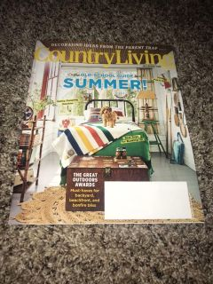 EUC JULY/AUGUST 2018 COUNTRY LIVING MAGAZINE