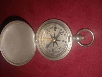WWI Era Wittnauer Air Corps Pocket Compass