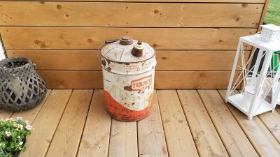 Vintage 5 Gallon Texaco Gas Can
