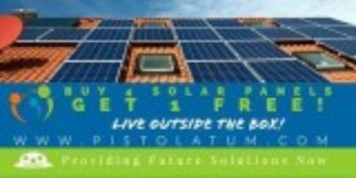 Solar Panels -SALE- BUY GET FREE