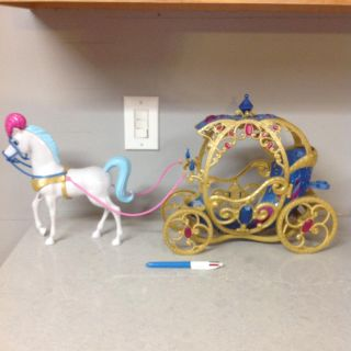 Barbie Princess Carriage with Horse
