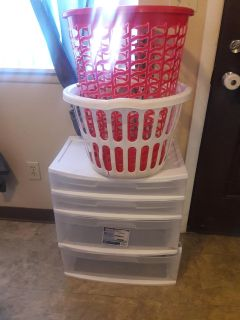 Storage container & Laundry Baskets