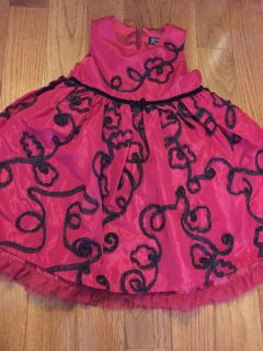 Children's place holiday dress girls size 4T