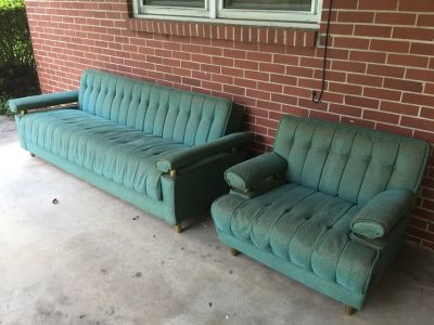 Man Cave Sofa and Chair