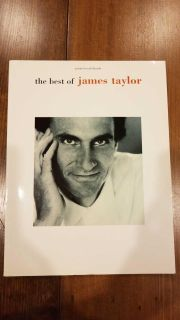 Piano Vocal Guitar Songbook Best of James Taylor