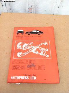 Porsche 912 Workshop Manual 1965-69