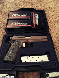 For Sale/Trade: SIG SCORPION 1911