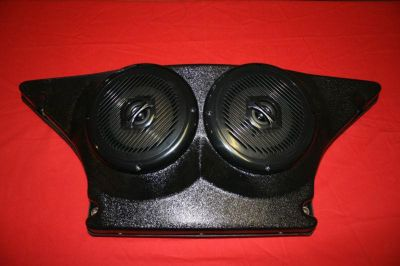 Sell REAR STEREO POD WITH CPS COAXIAL MARINE SPEAKERS FOR POLARIS RZR 570, 800, & 900 motorcycle in Lake Placid, Florida, US, for US $149.95