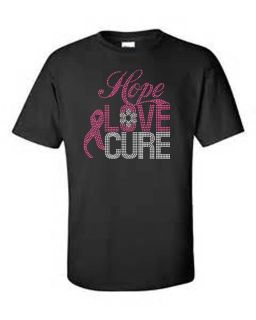 $12.50, Breast and Prostate Cancer t-shirts