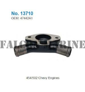 Find Mercruiser Marine for Chevy 7.4/454 8.2/502 GLM 13710 Thermostat Cover 47442A1 motorcycle in Memphis, Tennessee, United States, for US $58.49