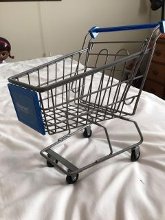 Metal Shopping cart for 18 inch dolls