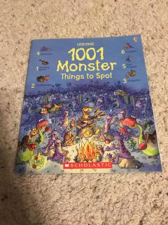 1001 Monster Things to Spot Book