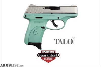 For Sale: Ruger EC9S Turquoise Stainless