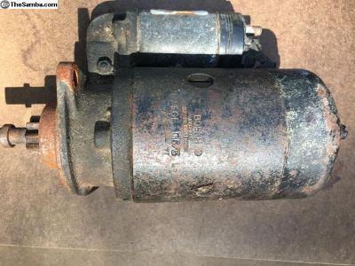 6V Bosch Starter AL/EGF 0,6/6
