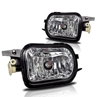 Purchase 01-07 Mercedes Benz W203 C-Class (not fit AMG) Fog Lights Clear Lens +Bulbs SET motorcycle in Rowland Heights, California, US, for US $40.24
